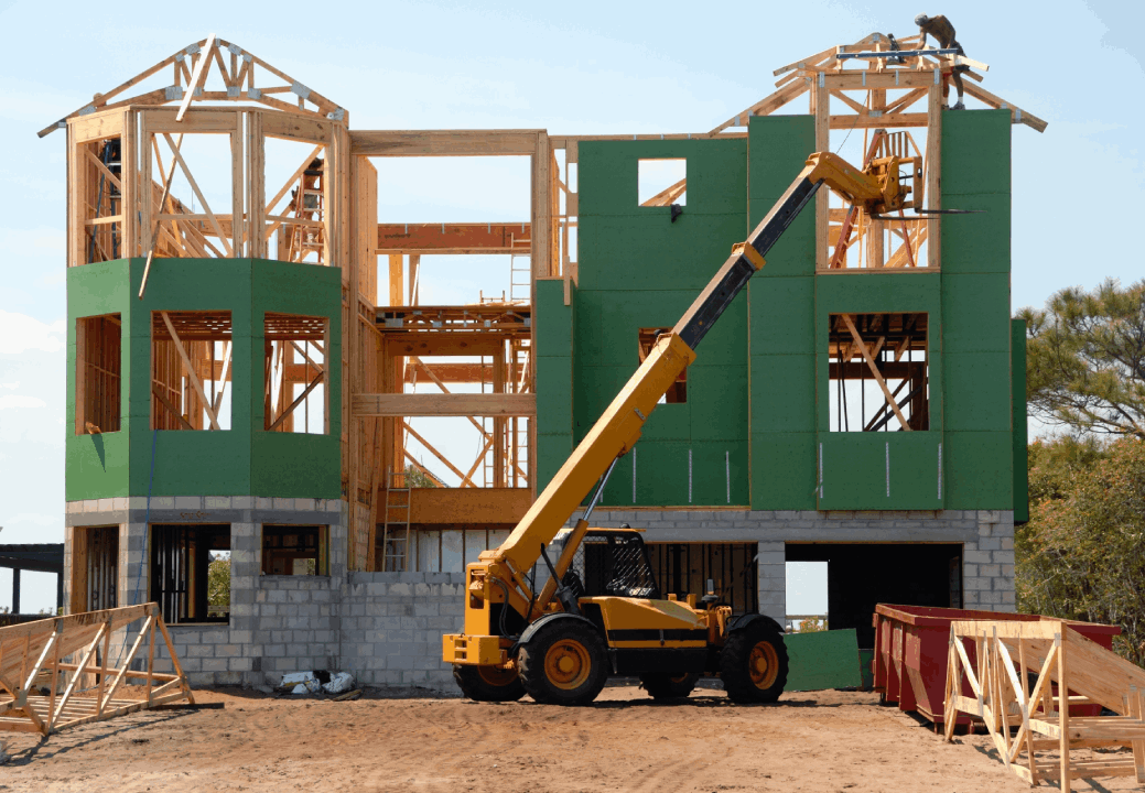 Balisage construction maison